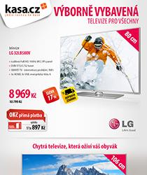 Doručíme vám do Vánoc chytrou televizí od LG se slevou až 33 % a na splátky s 0% navýšením!