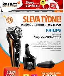 Nejlepší ceny týdne - holící strojek Philips se slevou 3500 Kč a dopravou zdarma!
