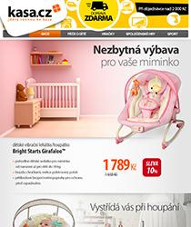 Nezbytná výbava pro vaše miminko se slevou 35 % a odběr ZDARMA na více než 70 místech