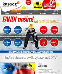 UŽ JEN 4 DNY! Fanděte českým hokejistům spolu s námi na nové televizi se slevou až 36 %
