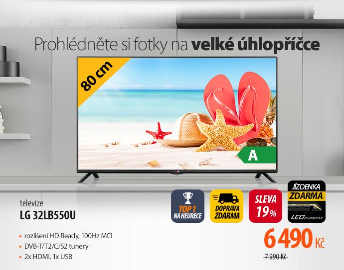 Televize LG 32LB550U černá