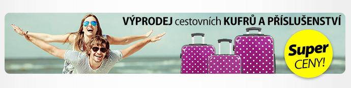 Výprodej cestovních kufrů a příslušenství