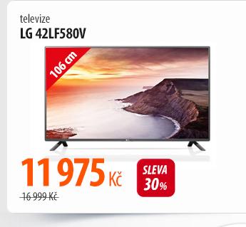 Televize LG 42LF580V šedá
