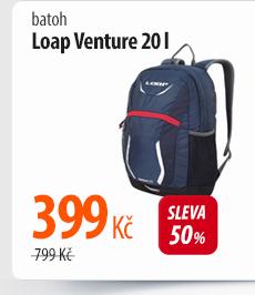 Batoh Loap Venture 20l červený/modrý