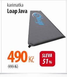 Karimatka Loap Java šedá/modrá
