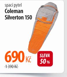 Spací pytel Coleman Silverton 150 šedý/oranžový