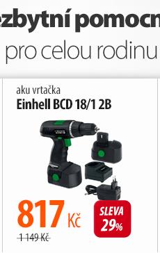 Aku vrtačka Einhell BCD 18/1 2B Bavaria Black