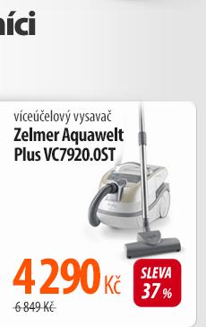 Vysavač víceúčelový Zelmer Aquawelt Plus VC7920.0ST šedý