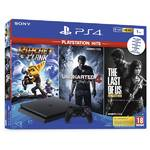 Konsola do gier Sony PlayStation 4 SLIM 1TB + The Last Of Us +Uncharted 4 + Ratchet & Clank (PS719719519) Czarny