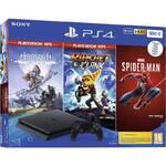 Konsola do gier Sony PlayStation 4 500 GB + Spiderman + Horizon Zero Dawn + Ratchet & Clank) (PS719391708)