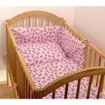 Pościel do łóżeczka dla dziecka Kaarsgaren - różowa