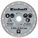 Tarcza diamentowa Einhell, 250x25,4 mm do przecinarek RT-SC 570 L i STR 250
