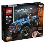 Zestawy LEGO® TECHNIC 42070 Terénní odtahový vůz 6x6