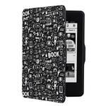 Etui dla czytników e-book Connect IT Doodle do Amazon Kindle Paperwhite (CEB-1030-BK) Czarne