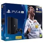 Konsola do gier Sony PlayStation 4 PRO 1TB + FIFA18 + PS Plus 14 dni (PS719914365) Czarna