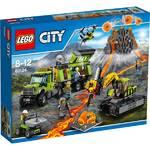 Zestawy LEGO® City  60124 Baza badaczy wulkanów