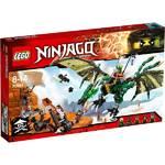 Zestawy LEGO® Ninjago 70593 Zielony smok NRG