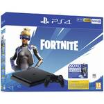 Konsola do gier Sony PlayStation 4 500 GB + Pakiet Fortnite 2000 V-dolców (PS719940104) Czarna
