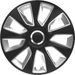 "Pokrywa koła Versaco Stratos RC black/silver 16"" sada 4ks (20016)"