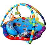 Mata edukacyjna dla dzieci Sun Baby Podwodny Świat Czerwona/Niebieska/Zielona/Purpurowa