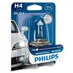 Auto żarówka Philips WhiteVision H4, 1ks (12342WHVB1)