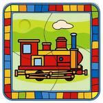 Puzzle Bino lokomotywa