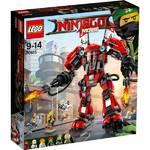 Zestawy LEGO® NINJAGO 70615 Ognisty robot