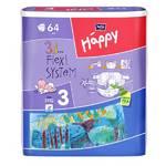 Plienky Bella Baby Happy Midi 64 ks