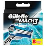 Gillette Mach3 Turbo (8 ks)
