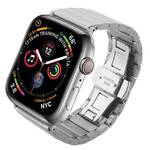 Pasek wymienny COTEetCI na Apple Watch 42/44mm, ocelový (WH5238-TS) Srebrny