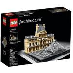 Zestawy LEGO® Architecture 21024 Luwr