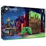 Konsola do gier Microsoft Xbox One S 1 TB Limitovaná edice Minecraft (23C-00011)