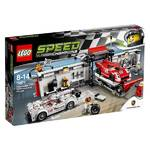 Zestawy Lego® Speed Champions 75876 Porsche 919 Hybrid i 917K Pit Stop