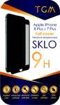 Szkło ochronne TGM Full Cover pro Apple iPhone 7+/8+ (TGMAPIP7P8PBL) Czarne