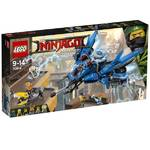 Zestawy LEGO® NINJAGO 70614 Odrzutowiec Błyskawica