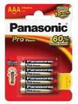 Baterie alkaliczne Panasonic AAA, LR03, Pro Power, blistr 4 szt.
