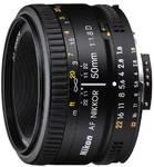 Obiektyw Nikon NIKKOR 50 mm f/1.8 AF D Czarny