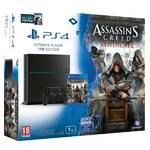 Herná konzola Sony PlayStation 4 1TB + Assassins Creed Syndicate + Watchdogs (PS719856641) čierna