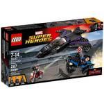 Zestawy LEGO® Super Heroes 76047 Pościg Czarnej Pantery