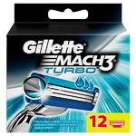 Gillette Mach3 Turbo (12 ks)