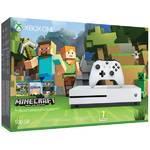 Konsola do gier Microsoft Xbox One S 500 GB + zestaw Minecraft (ZQ9-00047) Biała