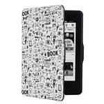 Etui dla czytników e-book Connect IT Doodle do Amazon Kindle Paperwhite (CEB-1031-WH) białe