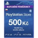 Karta pre-paid Sony PlayStation Live Cards 500Kč -  PS Store czeska (PS719894339)