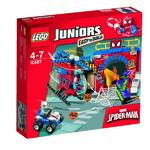 Zestawy Lego® Juniors 10687  Spider-Man kryjówka