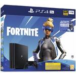 Konsola do gier Sony PlayStation 4 Pro 1 TB + Pakiet Fortnite 2000 V Dolce (PS719941101) Czarna