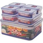 Pojemnik na żywność Lock&lock 7 ks