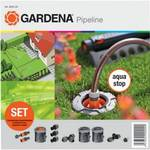 Nawadnianie Gardena 8255-20 zestaw podstawowy Pipeline Szara