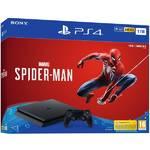 Konsola do gier Sony PlayStation 4 SLIM 1TB + hra Spider-Man (PS719733218) Czarny