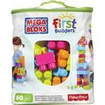 Stavebnica Mega Bloks First Builders Big Building bag unisex 60ks