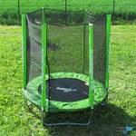 Zestaw trampolina Masterjump SET 182 cm + siatka ochronna